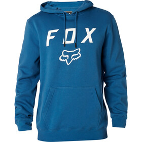 Fox Legacy Moth Fleece Pullover Men dusty blue